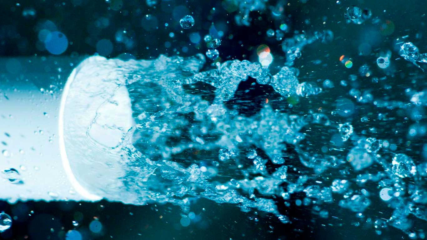 pvc pipe water