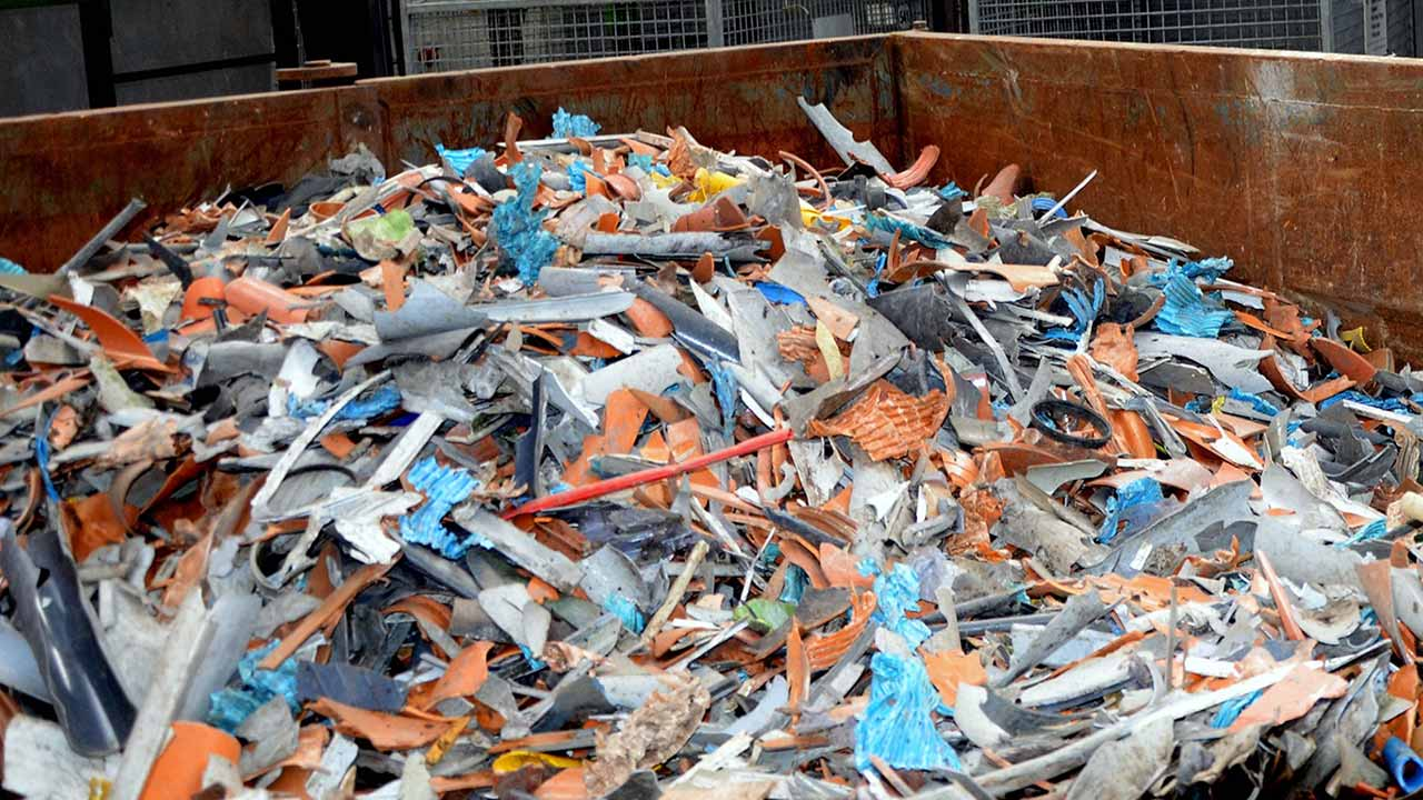 why pvc pipes recycling shredded