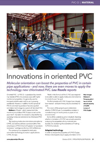pvc innovations