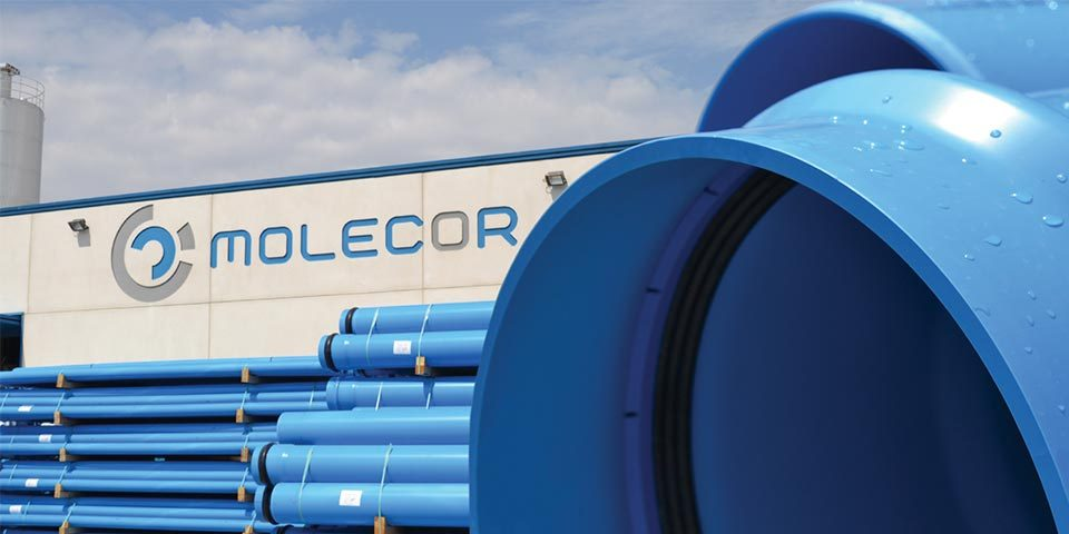 molecor pvc-o c-pvc innovation pipes and profile extrusion news