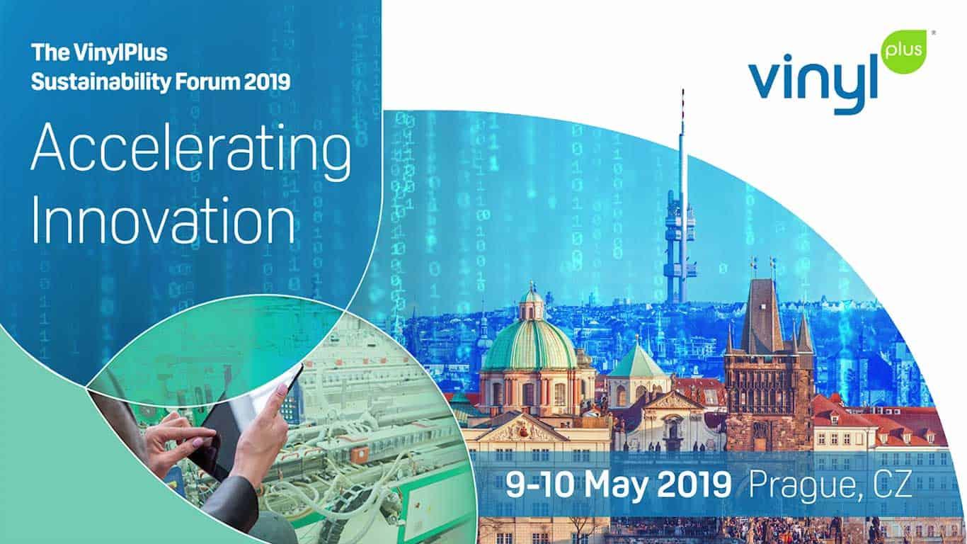 Accelerating Innovation theme VinylPlus Sustainability Forum 2019