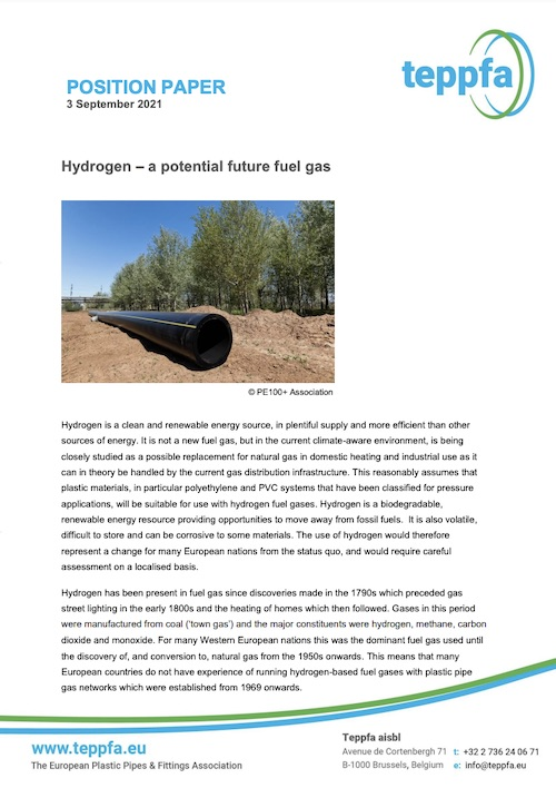 teppfa position paper hydrogen pvc